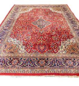 (#079) ca. 315x245cm Handgeknüpfter Orientteppich mit Isfahan Muster