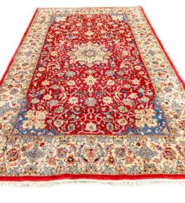 (#120) Neuwertig ca. 272x177cm Handgeknüpfter Orientteppich 500.000k/qm mit Isfahan Muster