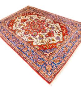 (#142) ca. 320x220cm. Handgeknüpfter antiker Perserteppich Iran